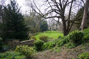 Peterborough Deanery Garden from Tout Hill
