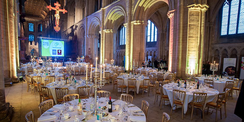 Dining in the Nave