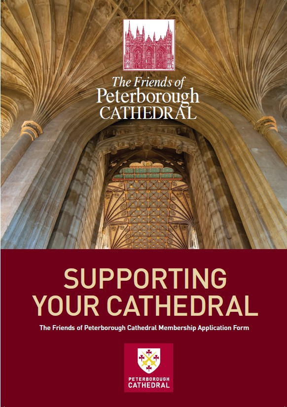 Friends of Peterborough Cathedral membership leaflet