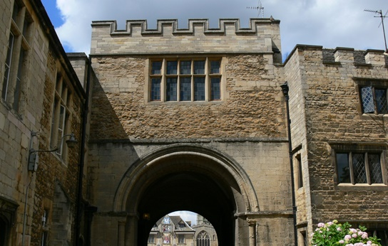 The King's Lodging above the Norman Arch