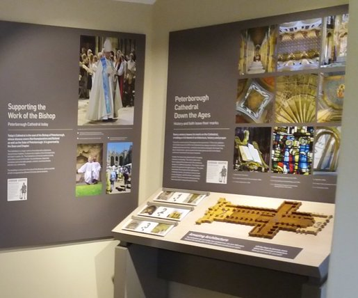Displays in the Visitor Centre